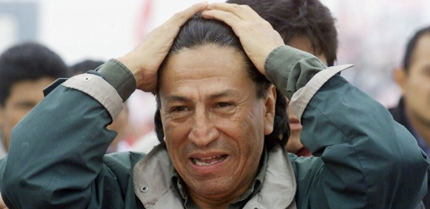 25.mai.2000 - O ex-presidente peruano Alejando Toledo