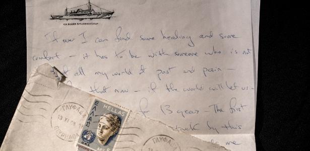 Carta que Jacqueline Kennedy escreveu para David Ormsby Gore