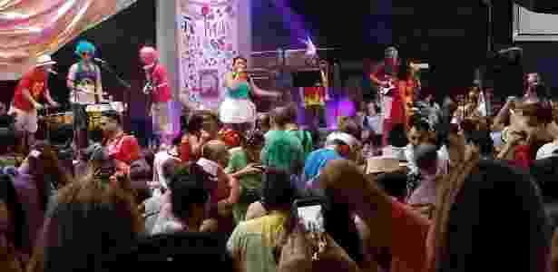 Foto tirada com câmera traseira do LG K10 Novo (Carnaval) - Márcio Padrão/UOL - Márcio Padrão/UOL