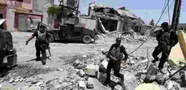 Campanha militar levou EI a perder território na Síria e no Iraque  - KarimSahib/AFP - KarimSahib/AFP