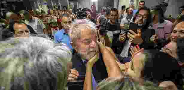 Lula no Sindicato dos Metalúrgicos dos ABC - Marlene Bergamo/Folhapress