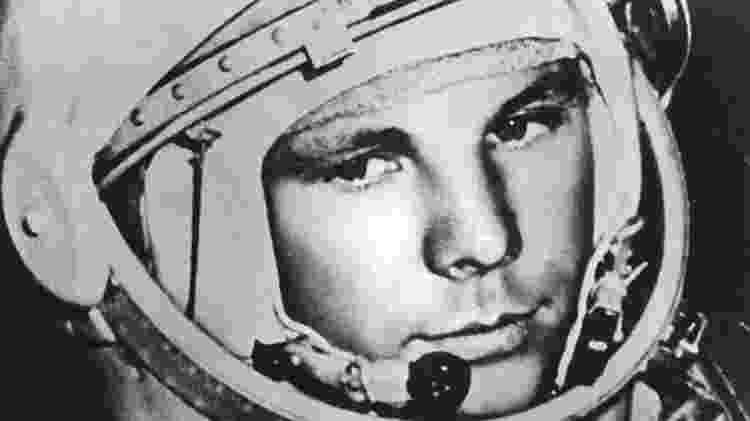 Yuri Gagarin foi o primeiro homem a ir para o Espaço - Wikimedia Commons - Wikimedia Commons