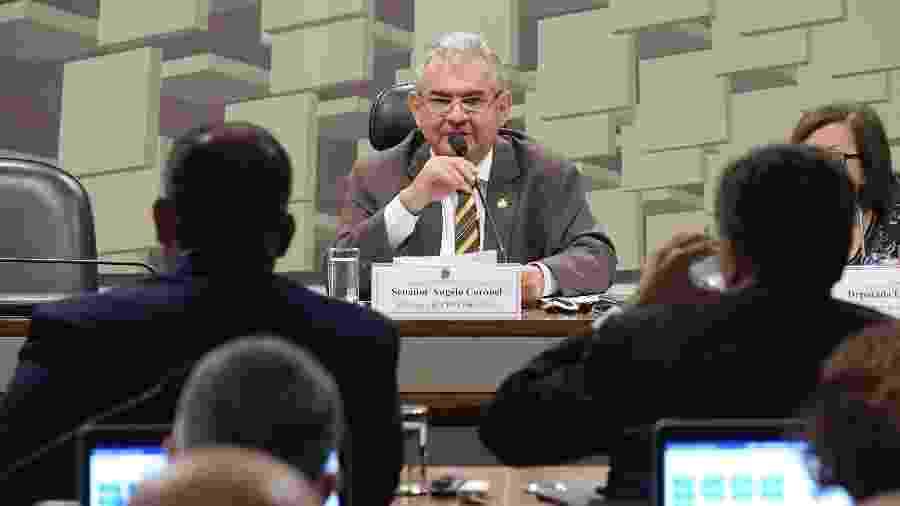 10.set.2019 - Senador Angelo Coronel (PSD-BA) preside a primeira reunião da CPMI das Fake News no Congresso Nacional - Waldemir Barreto/Agência Senado