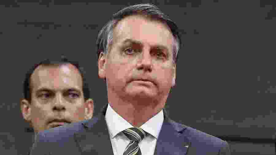 O presidente Jair Bolsonaro em evento realizado em Manaus - Marcos Corrêa/PR