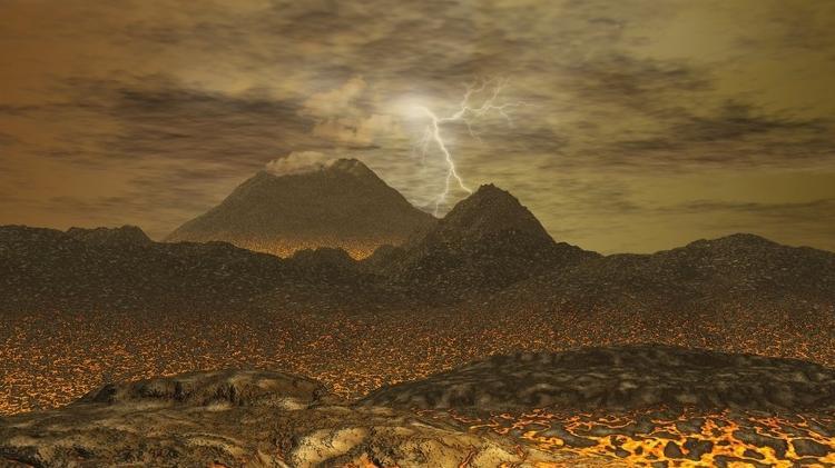 Hoje, condições em Vênus são adversas, com atmosfera densa e superfície quente, mas pode ter sido diferente no passado - Getty Images