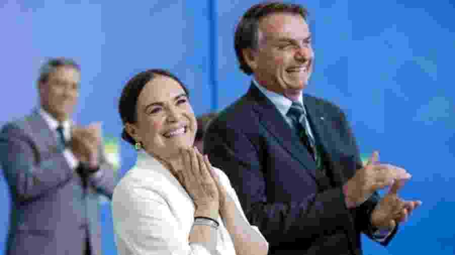 Regina Duarte assumiu o cargo no dia 4 deste mês - Alan Santos/PR