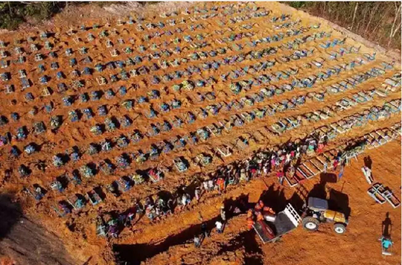 Brasil tem 9,2% das mortes por covid-19 no mundo em 24 horas, diz OMS -  07/05/2020 - UOL Notícias