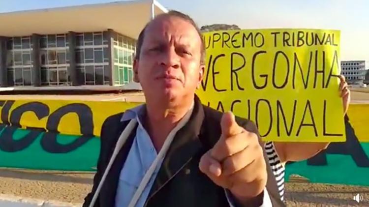 Renan da Silva Sena agrediu enfermeiras na última sexta-feira (1º) em Brasilia - Reprodução