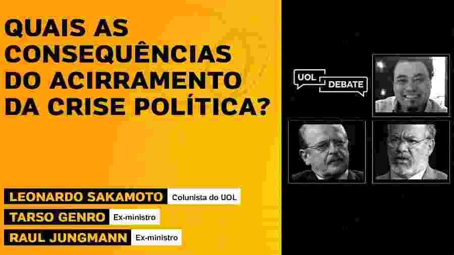 UOL Debate com Tarso Genro e Raul Jungmann (01/06/20) - Arte/UOL