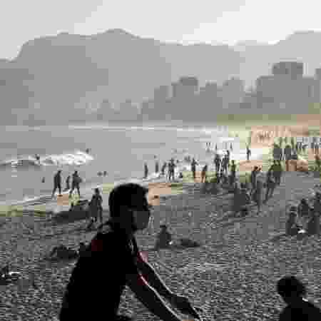 Praia do Arpoador no Rio de Janeiro; jornal The Independent colocou o Brasil no topo de uma lista de países que devem ser evitados  - Reuters