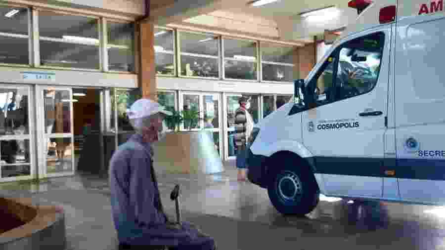 15.jul.2020 - Movimentação no Hospital de Clínicas da Unicamp, em Campinas; interior de SP segue com casos em alta - LUCIANO CLAUDINO/CÓDIGO19/ESTADÃO CONTEÚDO