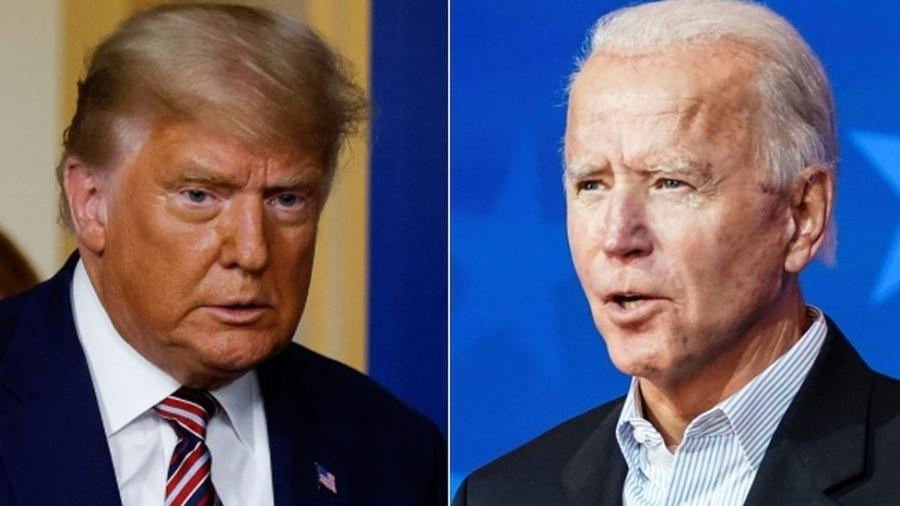 Democrata Joe Biden lidera disputa contra republicano Donald Trump - Reuters