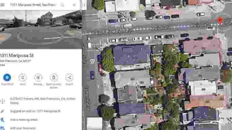Os círculos de tijolos são visíveis até em imagens de satélite - Google Maps - Google Maps