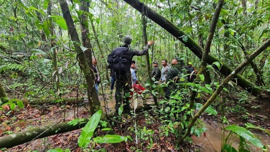 Forças de segurança fazem megaoperação em busca de adolescentes no Amapá - Divulgação/PM-AP