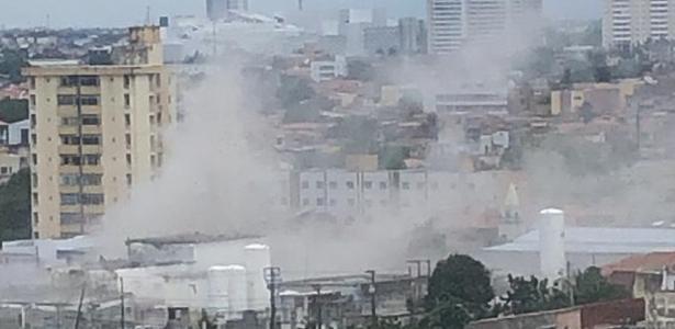 No Ceará   Fábrica que armazena oxigênio explode e deixa feridos em Fortaleza