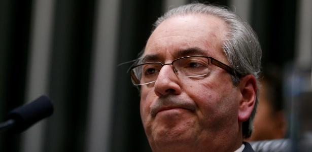 O presidente afastado da Câmara dos Deputados, Eduardo Cunha (PMDB-RJ), no plenário da Casa