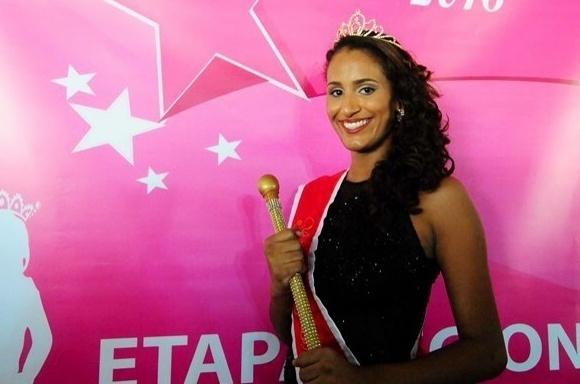 Thaine Cristina Machado Pinto, 21, 1,71 m, 61 kg, natural de Ponte Nova (MG), representante do Vale do Aço e Vale do Rio Doce