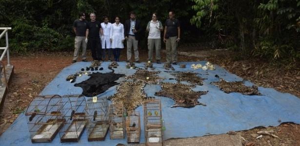 Envolvidos na operação ficaram espantados com material achado