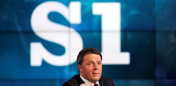 Destino de Matteo Renzi está ligado a resultado de plebiscito