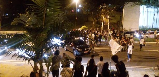 Protesto na Nove de Julho em SP tem confronto entre manifestantes e policiais  - Instagram/Reprodução