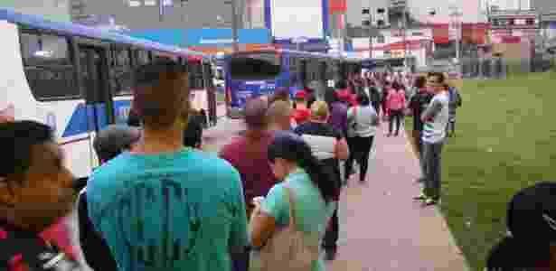 Homens também entendem que o assédio é um problema sério no meio de transporte - Ricardo Guimarães/Futura Press/Estadão Conteúdo