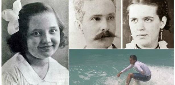 Odetinha (à esq.), Zélia e Jerônimo Magalhães e Guido Schäffer