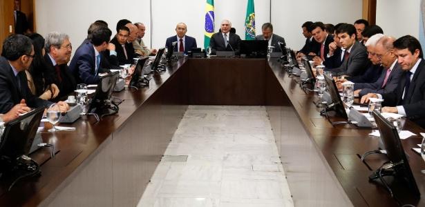 Temer faz reunião ministerial antes de embarcar para reunião do G20 na Alemanha