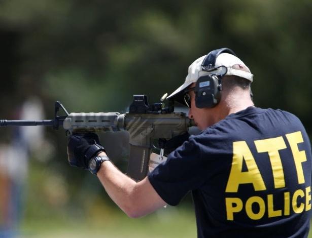 Agentes da ATF, dos EUA, irão treinar oficiais brasileiros a reconhecer armas de fogo