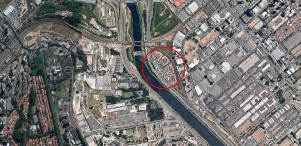 CDP de Pinheiros está localizado na zona urbana de São Paulo
