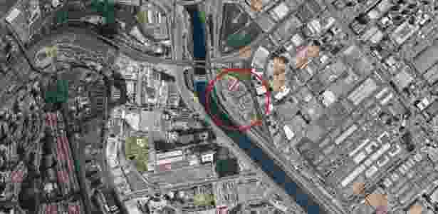 CDP de Pinheiros está localizado na zona urbana de São Paulo - Google Maps