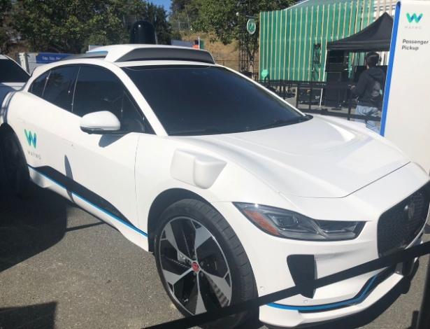Jaguar I-PACE da Waymo, empresa de carros autônomos da Google