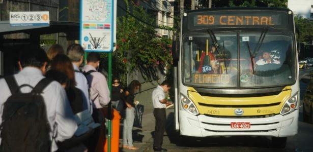 Tarifa de ônibus no Rio vai aumentar R$ 0,35 - Alessandro Buzas/Futura Press/Estadão Conteúdo