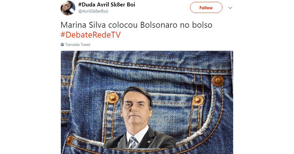 Meme Jair Bolsonaro debate RedeTV!