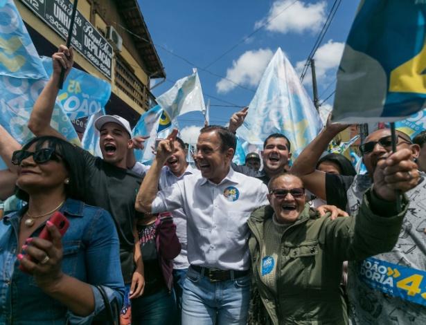 2º turno em SP   'Esquerdas se unem', diz Doria sobre apoio de prefeitos a França