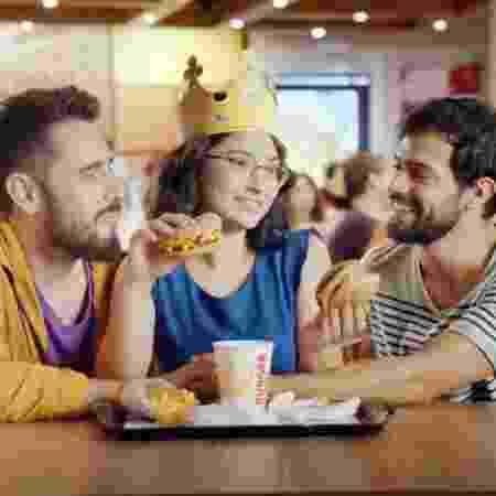 """""""Trisal"""" no comercial de Burger King - Divulgação"""