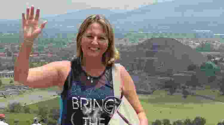 A astróloga Lúcia Xavier, que morreu junto à neta - Reprodução/Facebook