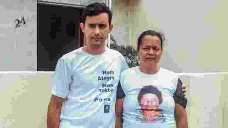 Josilene foi morar com o filho Josino no início deste ano, após a morte do marido - Matheus Melo/BBC