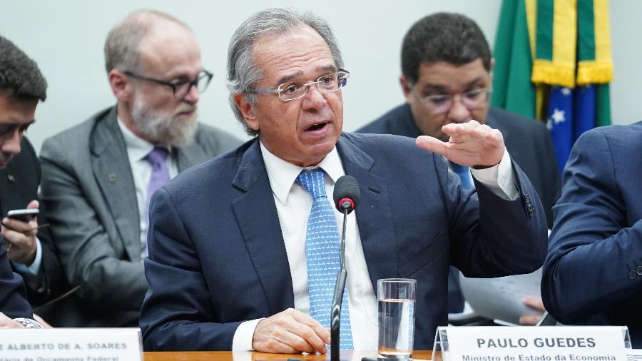 Ministros enviaram carta ao ministro da Economia, Paulo Guedes - Pablo Valadares/Câmara dos Deputados