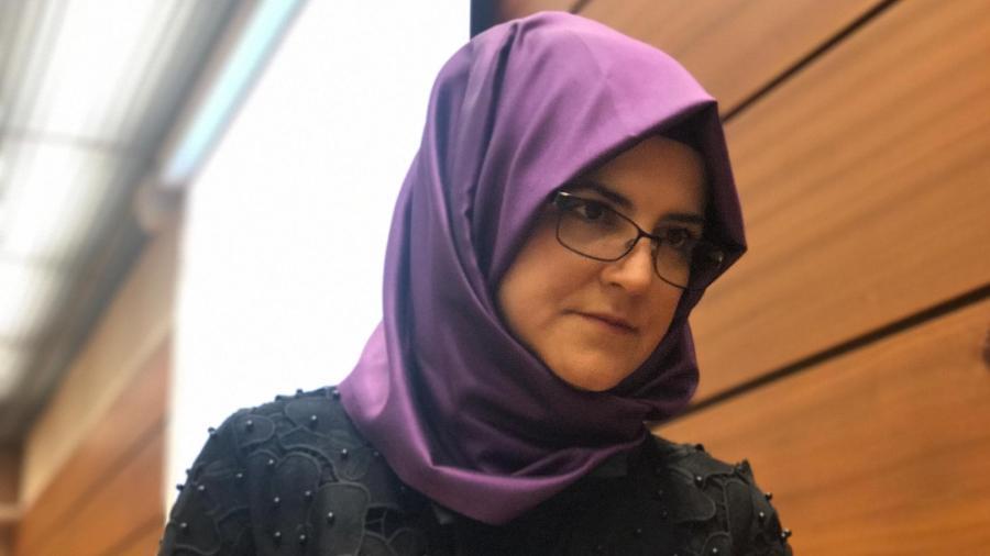 Hatice Cengiz, noiva do jornalista saudita assassinado Jamal Khashoggi - Jamil Chade/UOL