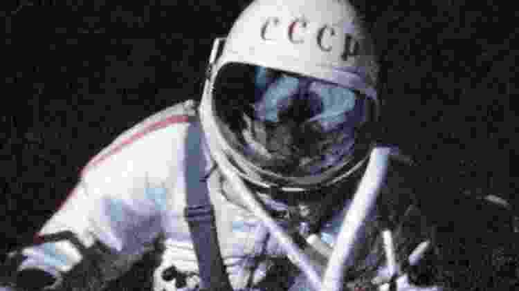 O astronauta soviético Alexei Leonov foi o primeiro a fazer uma caminhada espacial, em 1965 - Getty Images/BBC - Getty Images/BBC