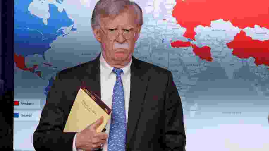 John Bolton, então conselheiro de Donald Trump - Jim Young/Reuters