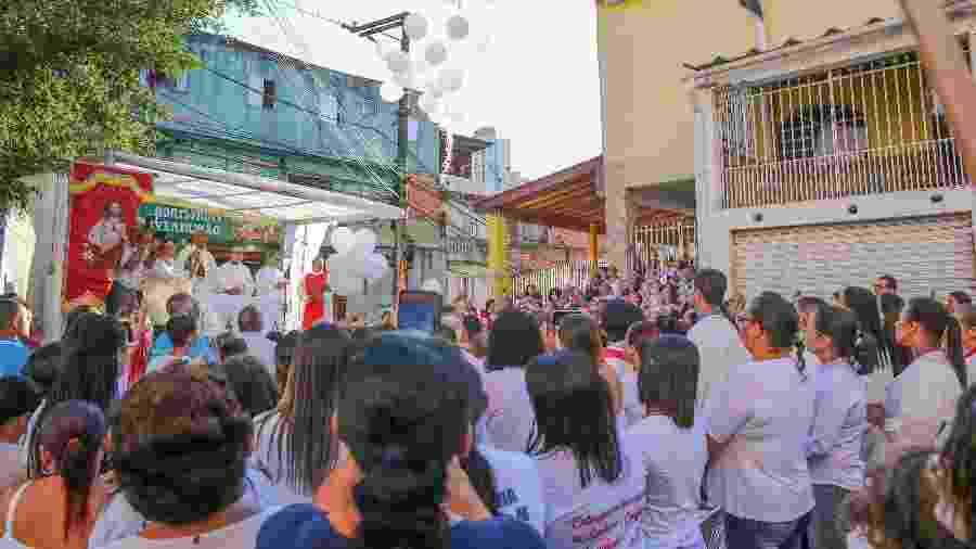 Ato marca uma semana da tragédia em Paraisópolis - JOSE BARBOSA/FUTURA PRESS