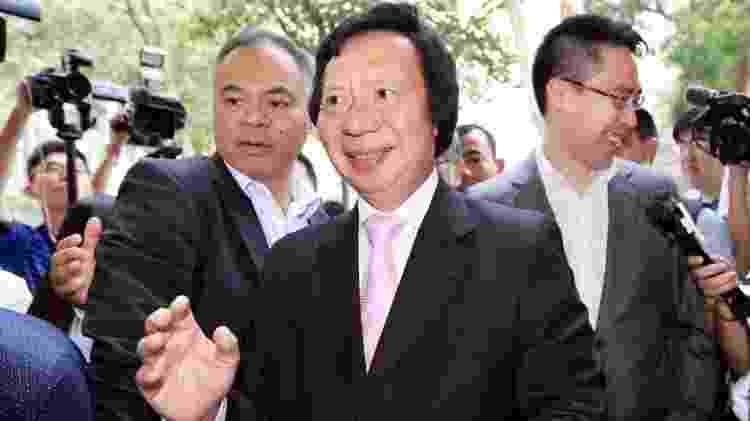Thomas Kwok foi condenado em Hong Kong por suborno - Getty Images - Getty Images