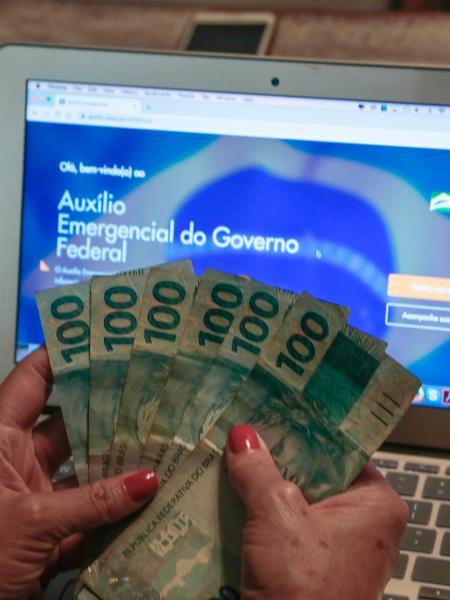 Auxílio emergencial, Caixa - Marcello Zambrana/AGIF/Estadão Conteúdo