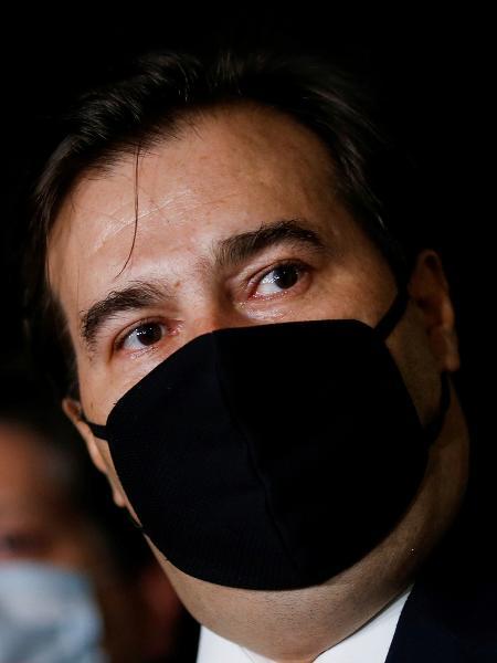 O presidente da Câmara, Rodrigo Maia, entrevistado do Roda Viva: Bolsonaro não cometeu crime algum - ADRIANO MACHADO