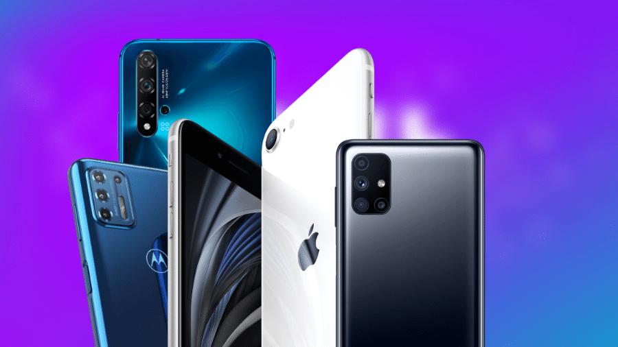 Os melhores smartphones intermediários de 2020 - Divulgação/Montagem (Tilt)