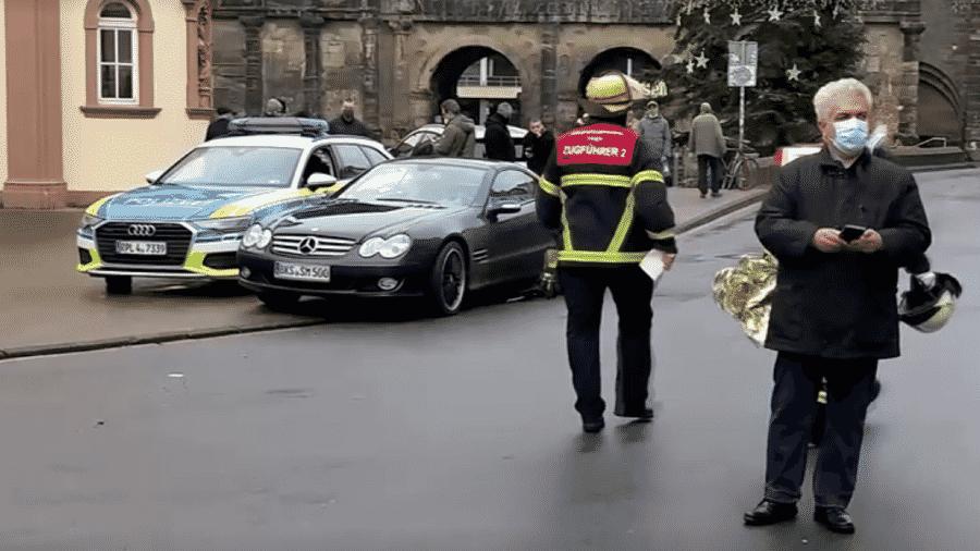 1.dez.2020 - Área de pedestres na cidade de Trier, onde um atropelamento matou pelo menos duas pessoas e deixou outros feridos - Reutres