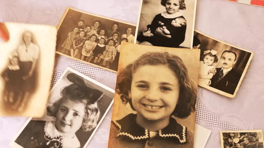 Coleção de fotos de Leah Nebenzahl, sobrevivente do Holocausto que vive em Jerusalém - RONEN ZVULUN/REUTERS