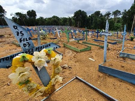 Mortes por Covid: Brasil registra média recorde de óbitos pelo 24º dia