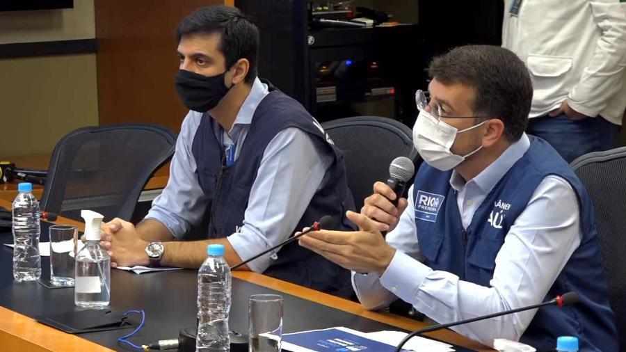 Daniel Soranz espera que a cidade do Rio de Janeiro receba novos medicamentos do kit intubação - Reprodução/Youtube